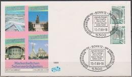 BRD FDC 1988 Nr.1342 C+D Senkrechtes Paar Sehenswürdigkeiten  (d4017)  Günstige Versandkosten - [7] República Federal