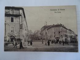 CPA--GENZANO DI ROMA   - VIA LIVIA --ANIME - Italia