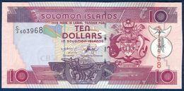 SOLOMON ISLANDS 10 DOLLARS P-27a 2005 UNC - Salomons