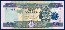 SOLOMON ISLANDS 50 DOLLARS P-29b LIZARD 2009 UNC - Solomon Islands