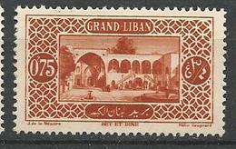 GRAND LIBAN  N° 53 NEUF* TRACE DE CHARNIERE TB  / MH - Grand Liban (1924-1945)