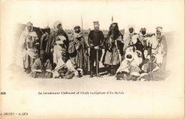 CPA Geiser 303 In Salah Le Lieutenant Cottenest Et Chefs ALGERIE (755227) - Algérie