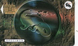 CARTE IMPRIMERIE NATIONALE Spécimen SALAMANDRE 1996 - France