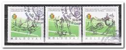 Moldavië 1994, Gestempeld USED, Football - Moldavië
