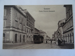 CPA--GENZANO--- CORSO VITTORIO EMANUELE ANIMEE. - Italia