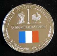 MEDAILLE DU CITOYEN  REVOLUTION FRANCAISE 1789 1799 LES PLUS BEAUX TRESORS DU PATRIMOINE DE FRANCE JETON TOURISTIQUE - Tourist
