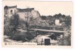 Wavre, La Ville éprouvée, Usine électrique (Pont) - Edit. Photo F. Balzat, Limal - 2 Scans - Wavre