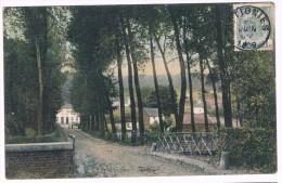 Ottignies, Paysage, Circulée En 1909, Edit. Spéciale De L'hôtel Duchêne - 2 Scans - Ottignies-Louvain-la-Neuve
