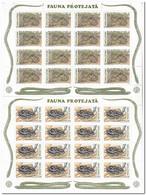 Moldavië 1993, Postfris MNH, WWF, Snakes - Moldavië