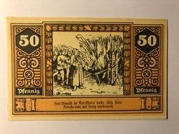 Allemagne Notgeld Wilsnack 50 Pfennig - [ 3] 1918-1933 : Weimar Republic