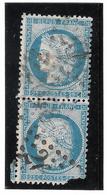 TIMBRES N°60/1  ; 90/100 B2  ; En L'état  ;TTB - 1871-1875 Cérès
