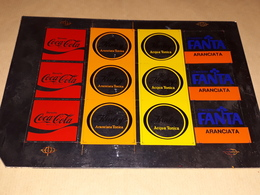 Coca Cola Fanta Adesivi Per Distributori Alla Spina Anni 70 Rari - Other