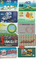 LOTTO 10 CARTE FUNZIONALI VARIE TIPOLOGIE PREVALENZA AREA ITALIA (GP164 - Altri
