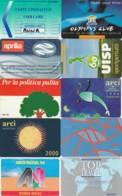 LOTTO 10 CARTE FUNZIONALI VARIE TIPOLOGIE PREVALENZA AREA ITALIA (GP167 - Altri