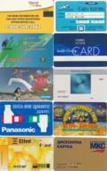 LOTTO 10 CARTE FUNZIONALI VARIE TIPOLOGIE PREVALENZA AREA ITALIA (GP172 - Altri