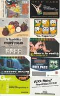 LOTTO 10 CARTE FUNZIONALI TIPO PROMOCARD PREVALENZA AREA ITALIA (GP186 - Other Collections