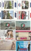 LOTTO 10 CARTE FUNZIONALI TIPO PROMOCARD PREVALENZA AREA ITALIA (GP197 - Other Collections
