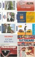 LOTTO 10 CARTE FUNZIONALI TIPO PROMOCARD PREVALENZA AREA ITALIA (GP198 - Other Collections