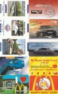LOTTO 10 CARTE FUNZIONALI TIPO PROMOCARD PREVALENZA AREA ITALIA (GP199 - Other Collections