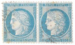TIMBRES N°60/1  ;114/115  B2  ; Difficile à Trouver ;TTB - 1871-1875 Cérès