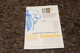 COLLECTION HISTORIQUE DU TIMBRE Poste - Coluche  YT 2902 - JOURNEE DU TIMBRE - 1994 - 1990-1999