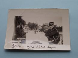 GENDARMERIE ( ?? State Police / Rijkswacht ?? ): Format 9 X 13 Cm. : COPENHAGUE 10 Fev 1925 ( Zie Foto / Gekreukt ) - Guerra, Militari