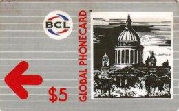 SANKT PETERSBURG BCL : 07004 $5  BCL Global Phonecard 112SAKA  +B USED - Russia