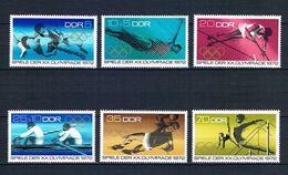 ALEMANIA ORIENTAL 1972 - DDR - JJOO DE MUNICH 72 - YVERT Nº 1440/1445** - Jumping