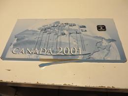 CANADA  2001  MÜNZEN  -  SET - Canada