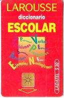 MEXICO - Larousse Diccionario Escolar, Chip GEM1.2, Used - Mexico