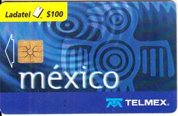 MEXICO - Telmex Telecard $100, Chip GEM1.2, Used - Mexico