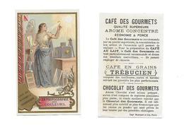 Chromo /Romanet & Cie/Trébucien/Invention :La Femme Et La Photographie Des Couleurs - Tee & Kaffee