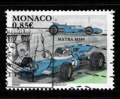 Monaco, Yv 3072 Année 2017,  Oblitéré, Voir Scan - Monaco
