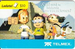 MEXICO - Pandilla Telmex, Chip G&D, Used - Mexico