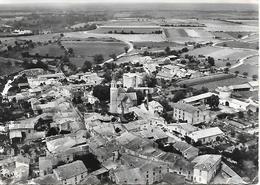 CPA-1955-EXOUDUN- Vue Aerienne Du Bourg Et Ses Environs En Direction La Mothe St Heray-BE - Frankreich