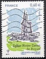 Oblitération Moderne Sur Timbre De France N° 4613 ** Eglise Notre-Dame De Royan - Charente Maritime - Francia