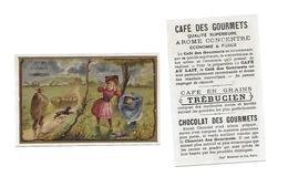 Chromo /Romanet & Cie/Trébucien/Météo : L'Orage:ciel Tourmenté, Enfants Se Bouchant Les Oreilles, Rentrée Du Troupeau - Tee & Kaffee