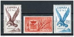 Ifni 1965. Edifil 215-17 ** MNH. - Ifni