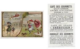 Chromo /Romanet & Cie/Trébucien/Météo : La Pluie, Averses En Ville Et à La Campagne - Thé & Café