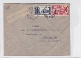 AIRMAIL ENVELOPE CIRCULEE 1949 FRANCE TO ARGENTINE OBLITERE PARIS- BLEUP - Luftpost
