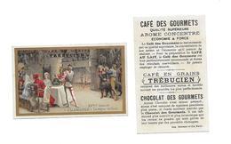 Chromo /Romanet & Cie/Trébucien/ Le Repas De Noël XVeme Siècle : Allemagne - Tee & Kaffee