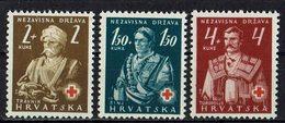Kroatien 1941 // Mi. 66/68 ** (029..869) - Croatie