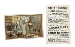 Chromo /Romanet & Cie/Trébucien/Un Jour  De Noël XVIIeme Siècle : France - Tee & Kaffee