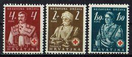 Kroatien 1941 // Mi. 66/68 ** (029..870) - Kroatien