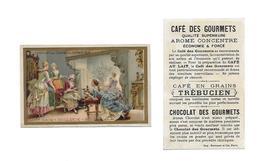 Chromo /Romanet & Cie/Trébucien/Nuit  De Noël XVIIeme Siècle : Hollande - Tee & Kaffee