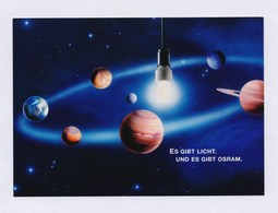 Es Gibt Licht. Und Es Gibt OSRAM - Unused - Werbepostkarten