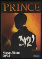 *Prince - 3121* Ed. FNAC. Imp. Postalfree Nº 3012. Nueva. - Música Y Músicos