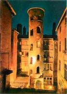 69 - Lyon - Vieux Lyon - Maison Du Crible Tour - Tour Rose - Vue De Nuit - Carte Neuve - Voir Scans Recto-Verso - Otros