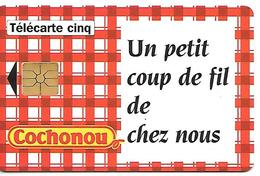 CARTE-PRIVEE-5U-03/95-GN133-GEMA-COCHONOU TORCHON-UTILISEE-TBE LUXE - France