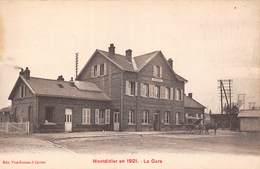 Montdidier (80) En 1921 - La Gare - Montdidier